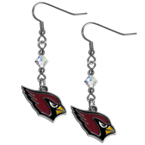Arizona Cardinals Crystal Dangle Earrings