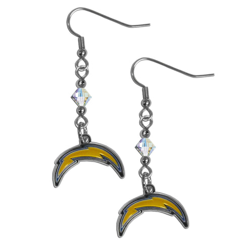 San Diego Chargers Crystal Dangle Earrings