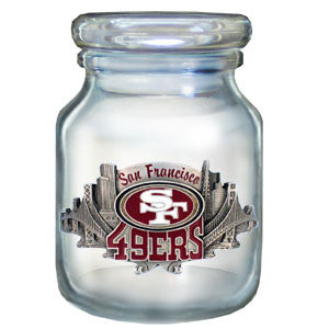 NFL Candy Jar - San Francisco 49ers