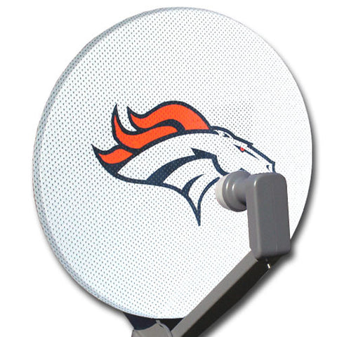 NFL Satellite Dish Cover - Denver Broncos