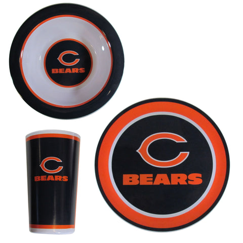 Chicago Bears 12 pc Melamine Dish Set