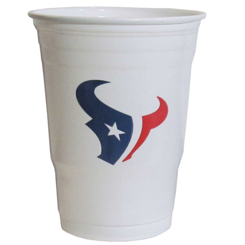 Houston Texans Plastic Game Day Cups