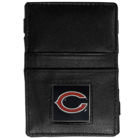 Chicago Bears Leather Jacob's Ladder Wallet