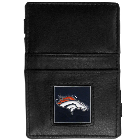 Denver Broncos Leather Jacob's Ladder Wallet