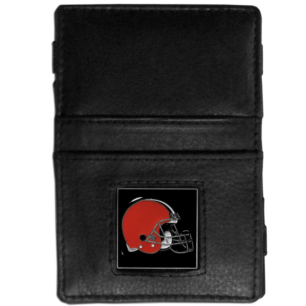 Cleveland Browns Leather Jacob's Ladder Wallet