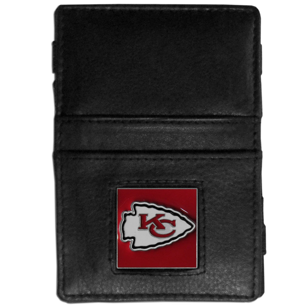 Kansas City Chiefs Leather Jacob's Ladder Wallet