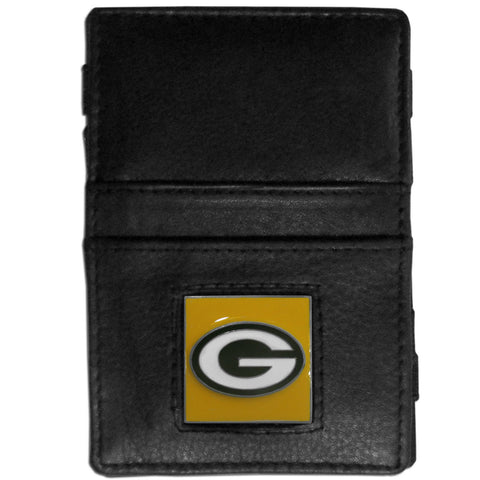 Green Bay Packers Leather Jacob's Ladder Wallet