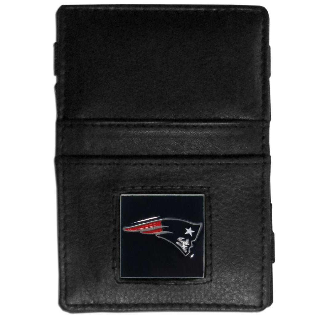 New England Patriots Leather Jacob's Ladder Wallet