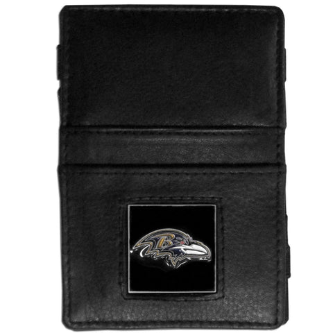Baltimore Ravens Leather Jacob's Ladder Wallet