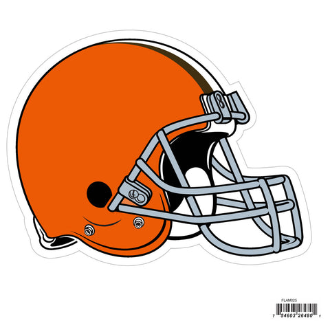 Cleveland Browns 8 inch Logo Magnets