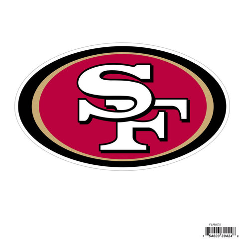 San Francisco 49ers 8 inch Logo Magnets