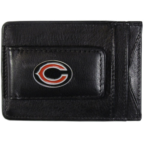 Chicago Bears Leather Cash & Cardholder
