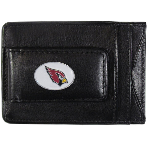 Arizona Cardinals Leather Cash & Cardholder