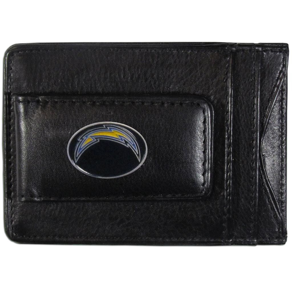 San Diego Chargers Leather Cash & Cardholder