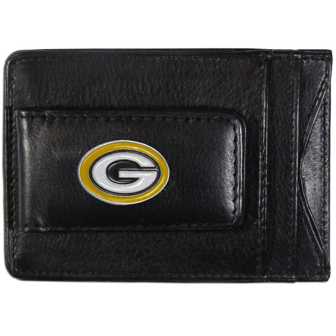 Green Bay Packers Leather Cash & Cardholder