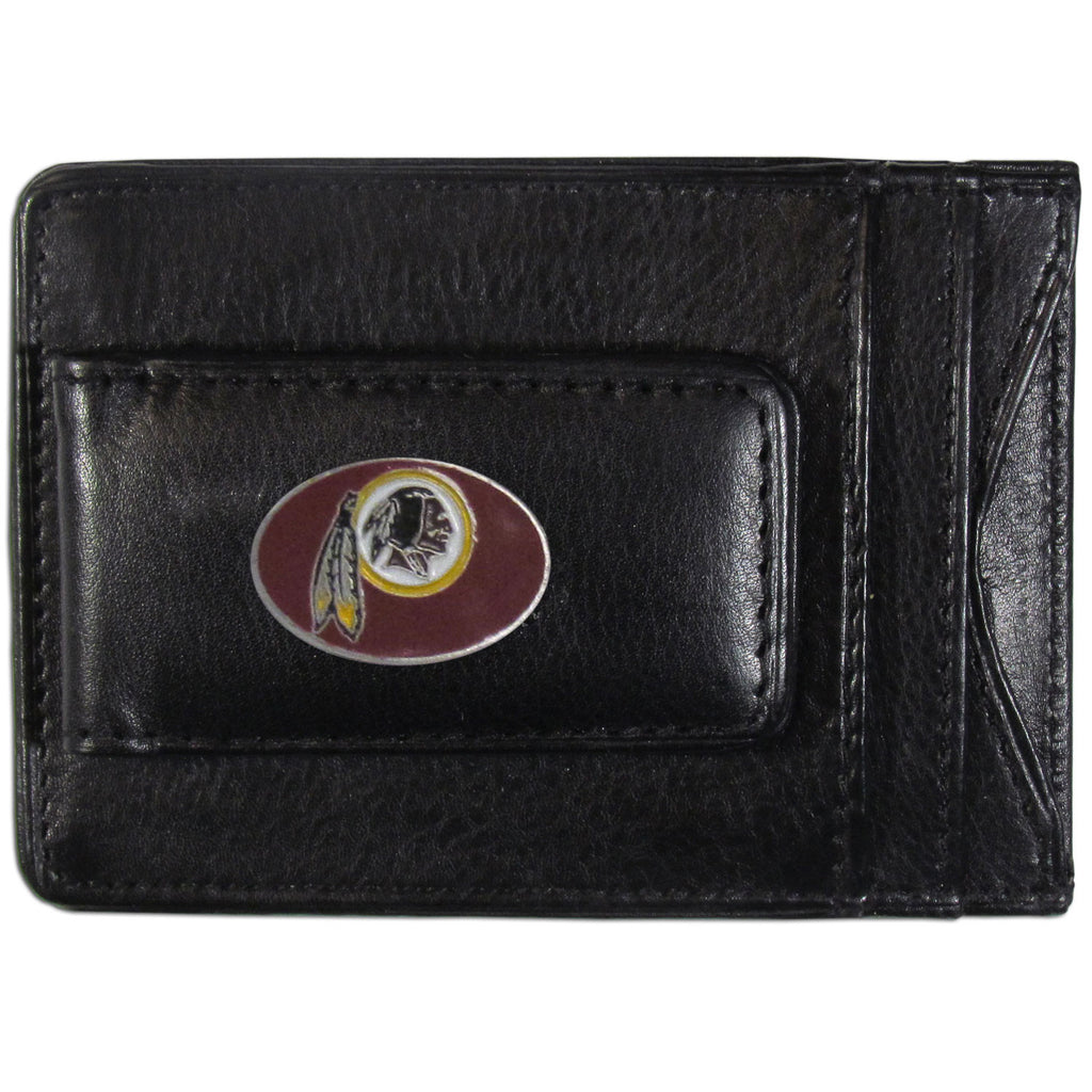 Washington Redskins Leather Cash & Cardholder