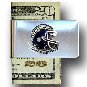 San Diego Chargers Steel Money Clip