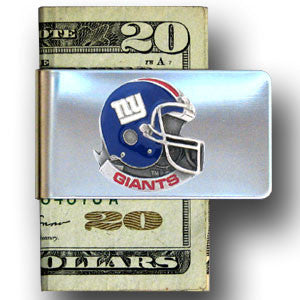 New York Giants Steel Money Clip