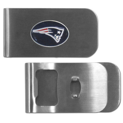 New England Patriots Bottle Opener Money Clip