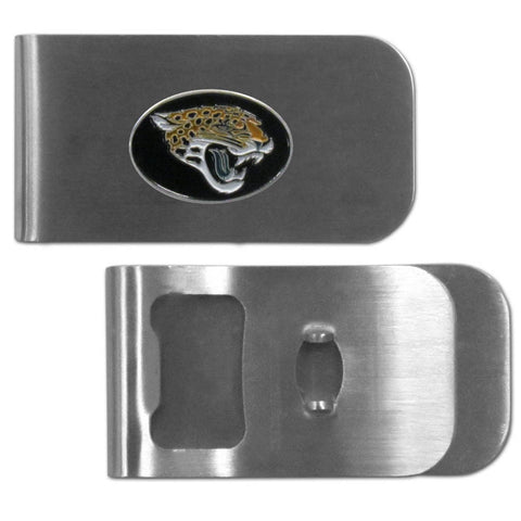 Jacksonville Jaguars Bottle Opener Money Clip