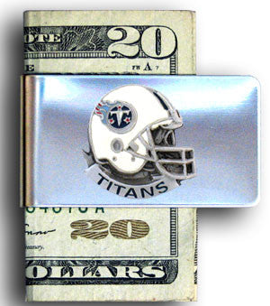 Tennessee Titans Steel Money Clip