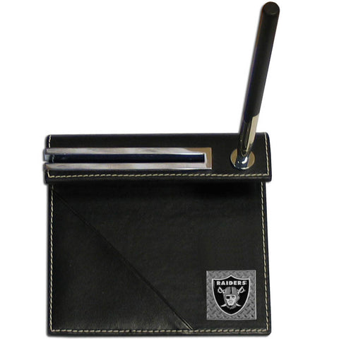 Oakland Raiders Gridiron Desk Set