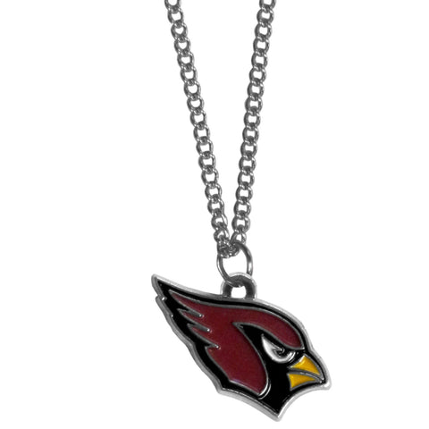 Arizona Cardinals Chain Necklace with Small Charm