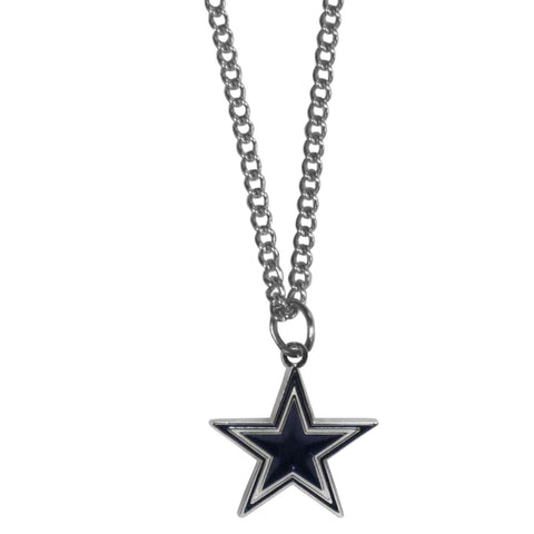 Dallas Cowboys Chain Necklace with Small Charm
