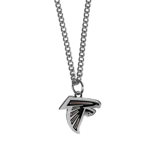 Atlanta Falcons Chain Necklace with Small Charm