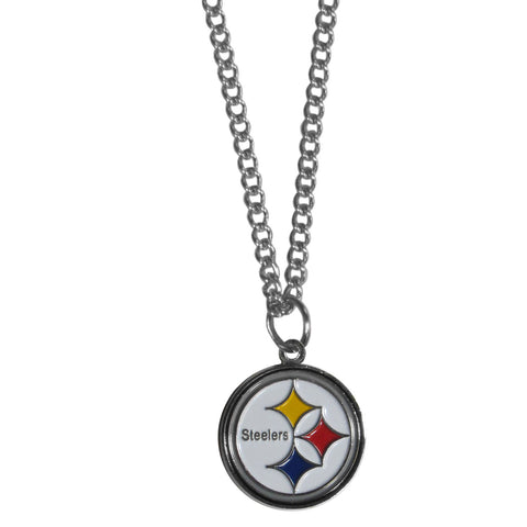 Pittsburgh Steelers Chain Necklace with Small Charm