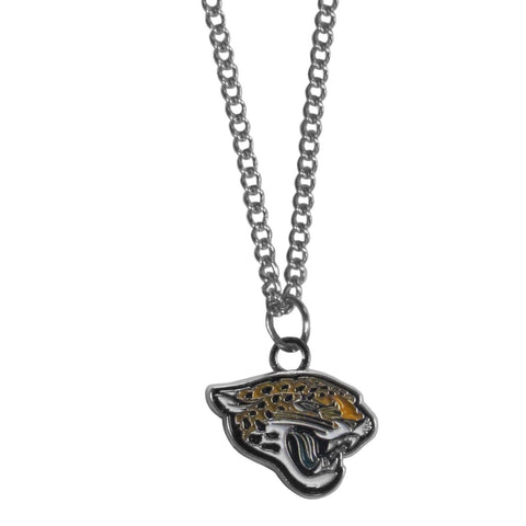 Jacksonville Jaguars Chain Necklace with Small Charm