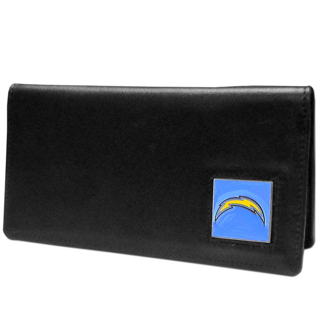 San Diego Chargers Leather Checkbook Cover