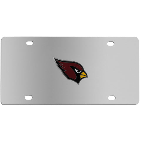 Arizona Cardinals Steel License Plate