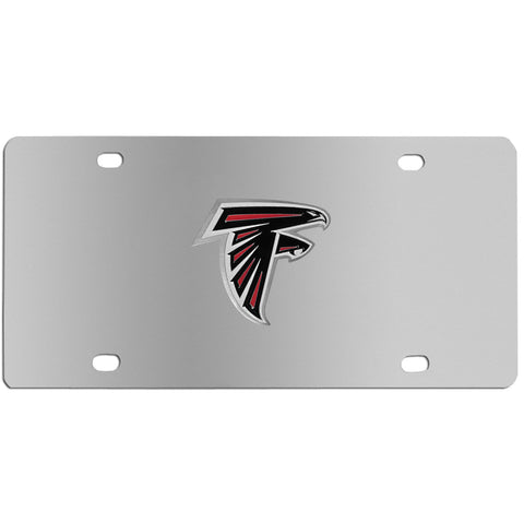 Atlanta Falcons Steel License Plate