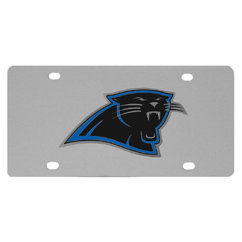 Carolina Panthers Steel License Plate