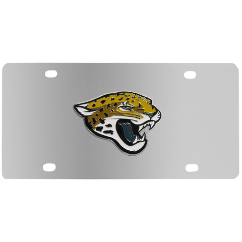 Jacksonville Jaguars Steel License Plate
