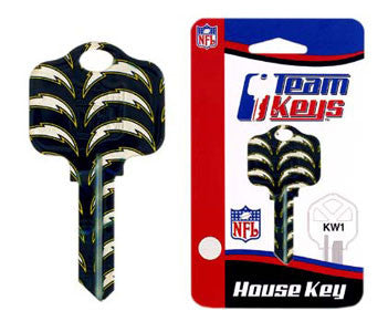 Kwikset NFL Key - San Diego Chargers
