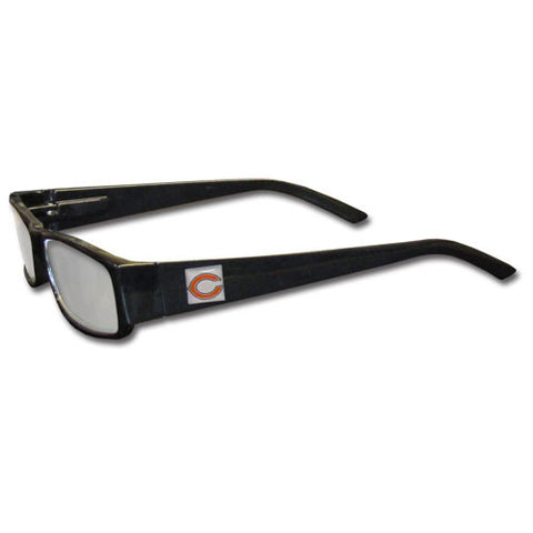 Chicago Bears Black Reading Glasses +2.50