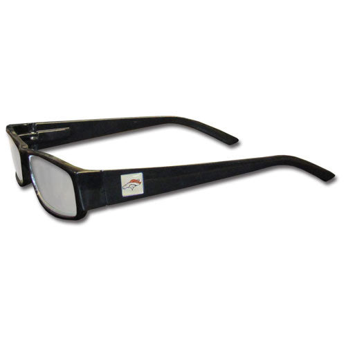 Denver Broncos Black Reading Glasses +2.25