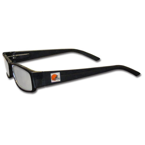 Cleveland Browns Black Reading Glasses +2.25