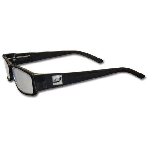 Philadelphia Eagles Black Reading Glasses +2.50