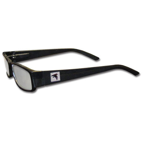 Atlanta Falcons Black Reading Glasses +2.50