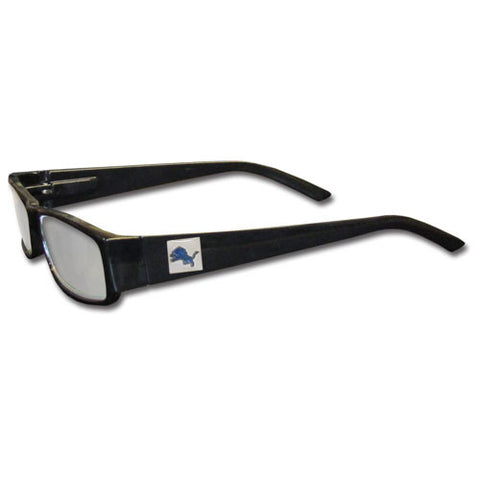 Detroit Lions Black Reading Glasses +2.25