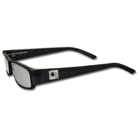 Washington Redskins Black Reading Glasses +1.75