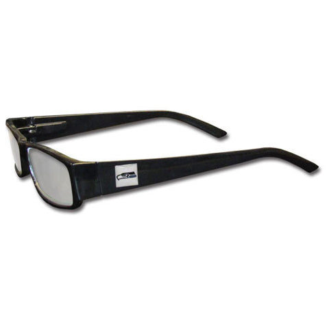 Seattle Seahawks Black Reading Glasses +1.25