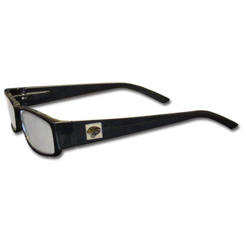 Jacksonville Jaguars Black Reading Glasses +2.25