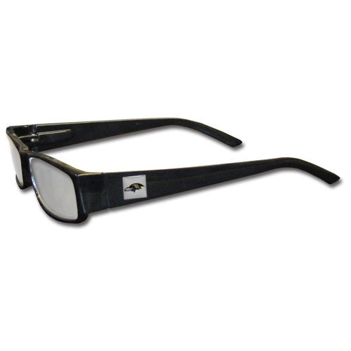 Baltimore Ravens Black Reading Glasses +2.50