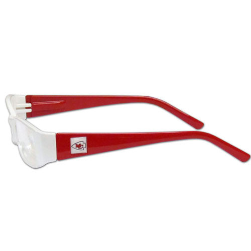Kansas City Chiefs Reading Glasses +2.00