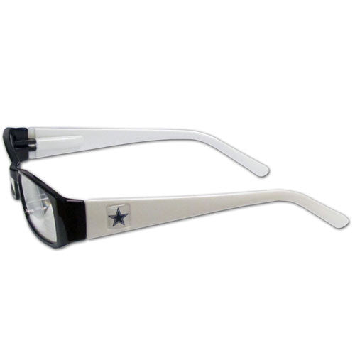 Dallas Cowboys Reading Glasses +2.00