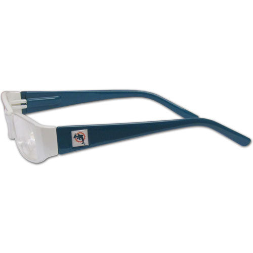 Miami Dolphins Reading Glasses +2.50